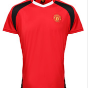 Add your name here  - Manchester United FC Adults Performance T-shirt