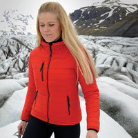 Women's gravity thermal shell