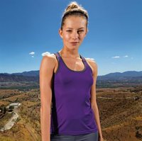 Women's TriDri® panelled fitness vest
